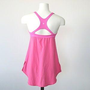 Lululemon Pink Venus Tank Top, Size 8